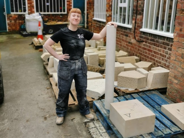 A week in the life of a trainee stonemason.